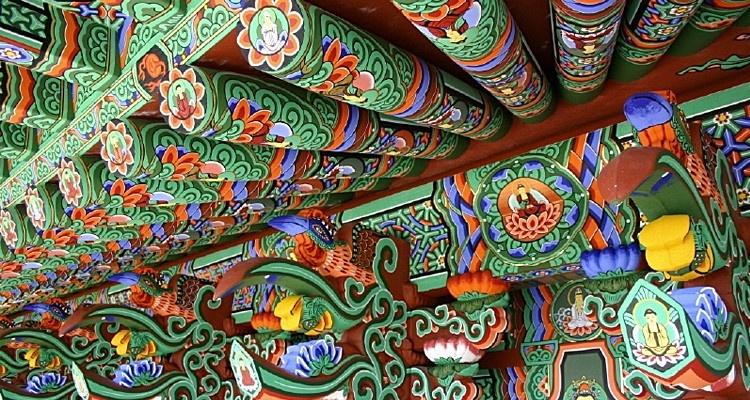 Dancheong - kolorowe zdobienia budynków