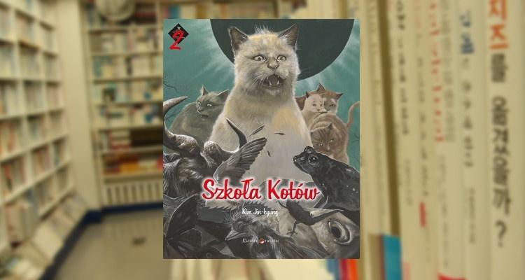Szkoła Kotów tom 2 - Kim Jin-kyung