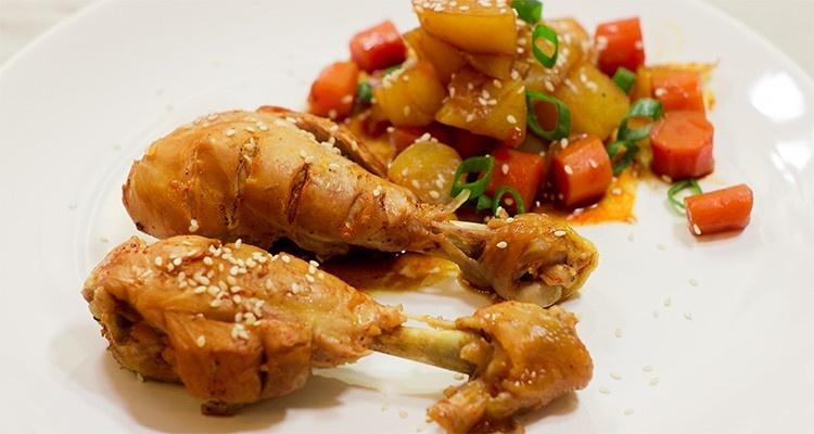 Dak dżorim przepis | 닭조림 | Dak Jorim