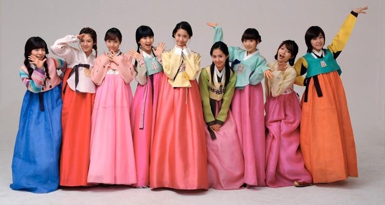 Strój narodowy - Hanbok