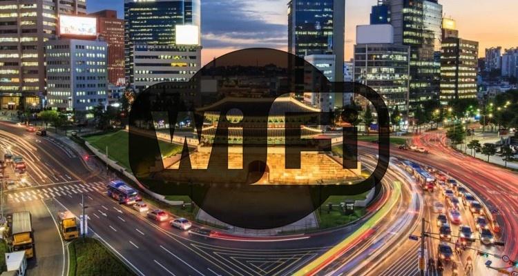 WiFi w Korei