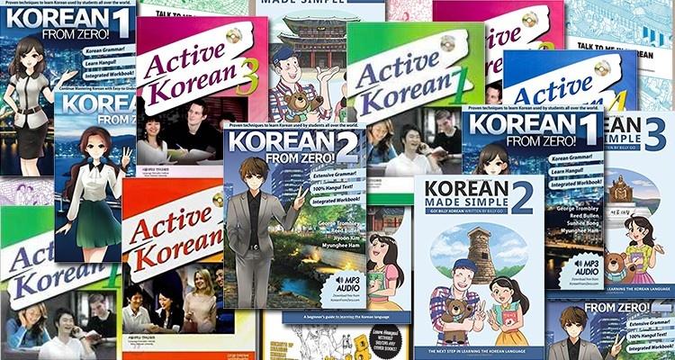 Książki do nauki koreańskiego