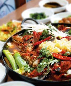 Tang, zupa i casserole
