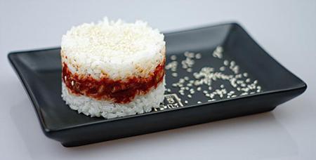 kimchi z ryżem